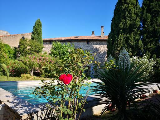 Scambi casa in: Francia,Saint Laurent Des Arbres, Languedoc,Mas provençal in Saint Laurent DE,Immagine dell'inserzione per lo scambio di case