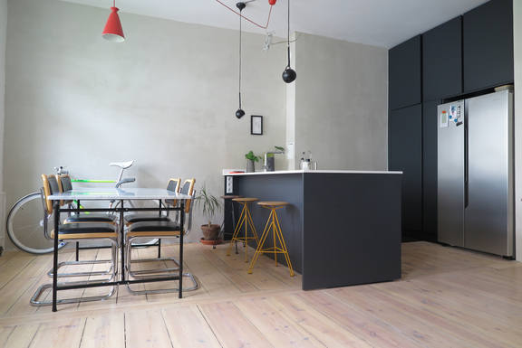 Home exchange in Germany,Berlin, Berlin,Stylish Apartment in Kreuzberg with Fireplace,Home Exchange & Home Swap Listing Image