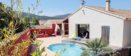 Home exchange country Fransa,cuges les pins, Bouches du rhone,Villa Fleur de sel, private pool, near Cassis,Home Exchange Listing Image