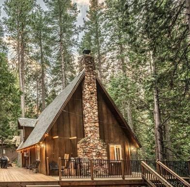 Échange de maison en États-Unis,Dorrington, CA,The Nest at Big Trees - family cabin,Echange de maison, photos du bien