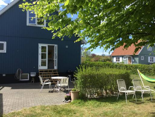 Scambi casa in: Danimarca,Rønne, capital,Svensk træhus på Bornholm,Immagine dell'inserzione per lo scambio di case