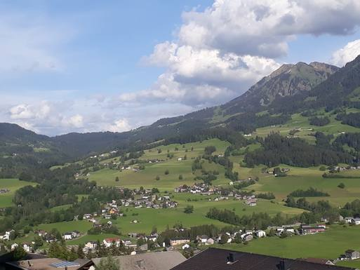 Home exchange country Avusturya,Egg, Vorarlberg,New home in Egg Austria with Mountain View,Home Exchange Listing Image