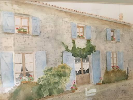 Scambi casa in: Francia,Chenon, Charente,Chic Stone Cottage near Verteuil Sur Charente,Immagine dell'inserzione per lo scambio di case
