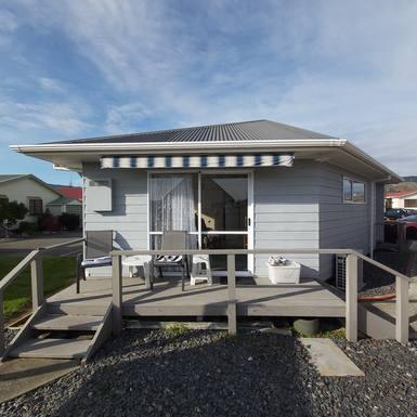 Huizenruil in  Nieuw-Zeeland,Richmond, Tasman,Cosy warm 2 br apartment in Sunny Nelson,Huizenruil foto advertentie