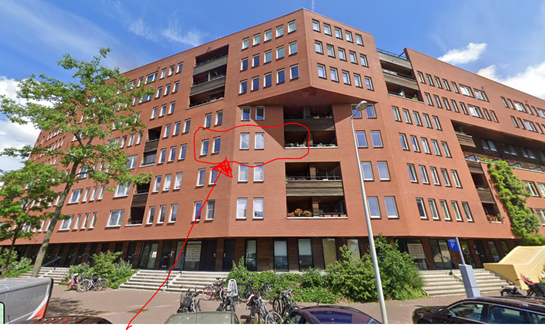 Home exchange in Netherlands,Amsterdam, Noord-Holland,Modern apartment in Amsterdam,Home Exchange & Home Swap Listing Image