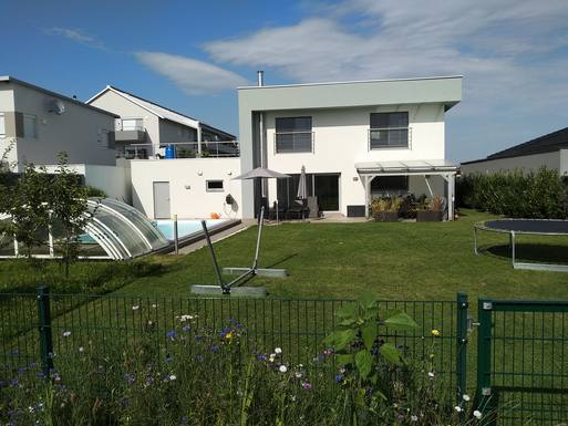 Koduvahetuse riik Austria,Holzhausen, Oberösterreich,Modern 2-storey house with pool and garden,Home Exchange Listing Image