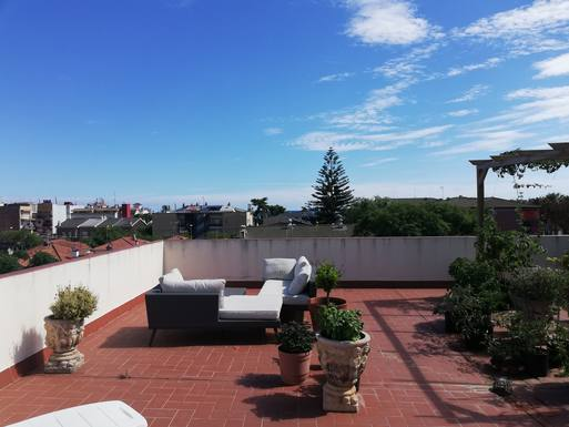 Home exchange in Spain,Casteldefels, Barcelona,Sunny flat with rooftop close to beach,Home Exchange & Home Swap Listing Image