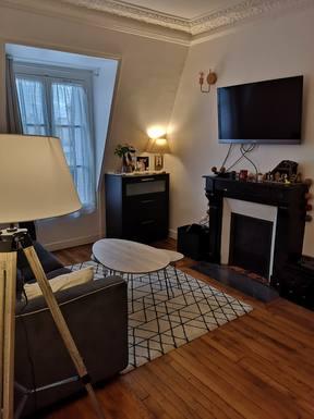 Koduvahetuse riik Prantsusmaa,PARIS, Paris 75,Appartement charmant avec terrasse,Home Exchange Listing Image