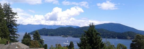 Home exchange in Canada,Gibsons, British Columbia,Coastal Panorama.,Home Exchange  Holiday Listing Image