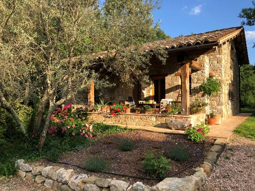 Home exchange country İtalya,San Venanzo TERNI, Umbria,The small house in the wood,Home Exchange Listing Image