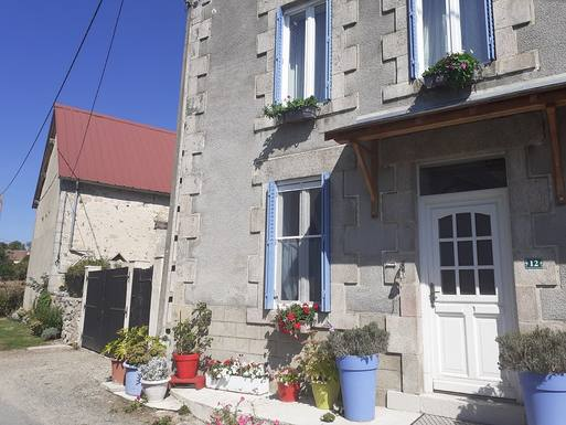 Kodinvaihdon maa Ranska,St Silvain sous Toulx, Limousin,Rural french experience - Renovated maison,Home Exchange Listing Image