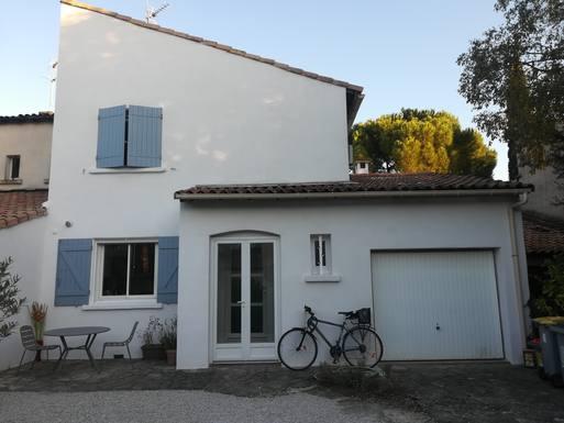 Sunny family house