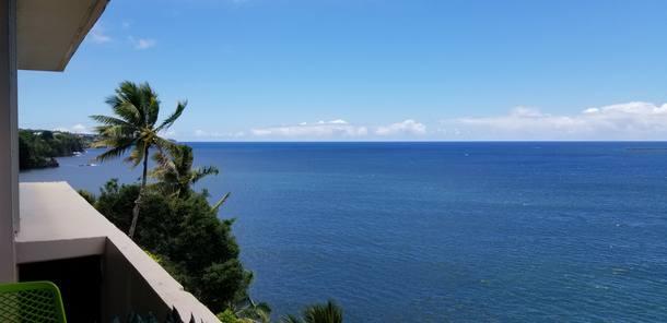 View from Lanai, Hamakua Coast