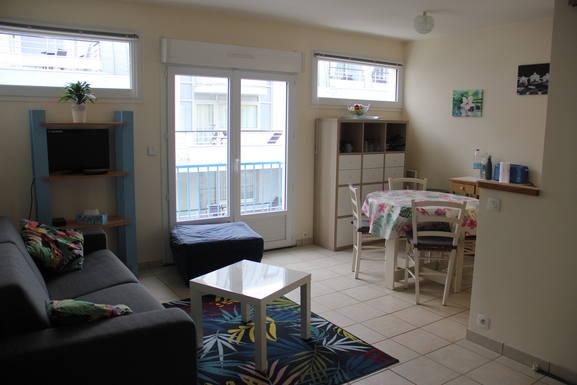 Échange de maison en France,Pornichet, Pays de la Loire,Nice apartment next to the beach,Echange de maison, photos du bien