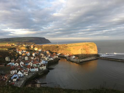 The Village of Staithes