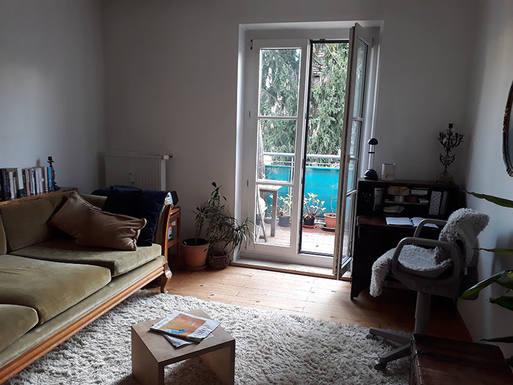 Échange de maison en Allemagne,München, Bayern,Little cosy flat in Munich centre,Echange de maison, photos du bien