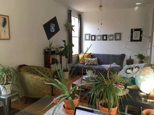 Échange de maison en Canada,Montreal, QC,Sunny and cozy apt in typical and quiet st.,Echange de maison, photos du bien