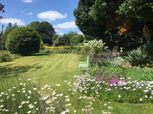 Koduvahetuse riik Suurbritannia,Newtown, Powys,Comfortable, exceptional views, lovely Garden,Koduvahetuse kuulutuse pilt