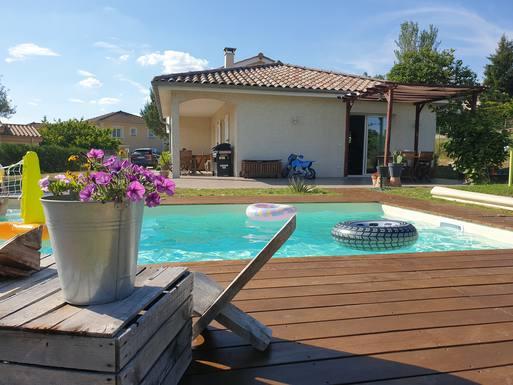 Home exchange in France,Saint Maurice l exil, Vallée du Rhône,Family house ideal for visiting Lyon-for 2021,Home Exchange  Listing Image