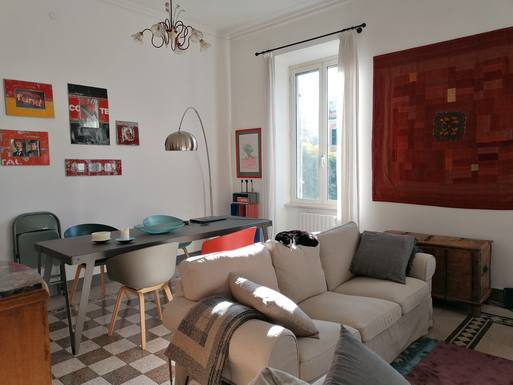Home exchange in Italy,Roma, Lazio,Art nouveau apartment in Rome,Home Exchange  Holiday Listing Image