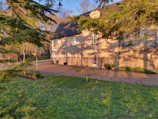 BoligBytte til Frankrig,Le Plessis Grammoire, Pays de Loire,Maison de caractère Ouest France,Boligbytte billeder