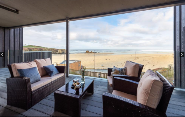 Boligbytte i  Storbritannia,Perranporth, Cornwall,Luxury apartment overlooking the beach,Home Exchange & House Swap Listing Image