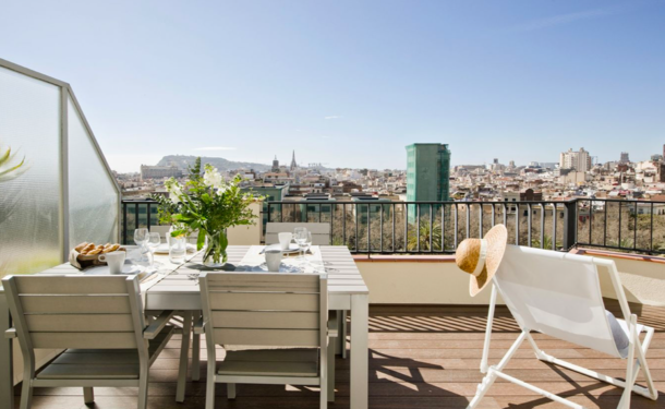 Boligbytte i  Spania,Barcelona, Catalunya,Amazing Terrace in Heart of Barcelona,Home Exchange & House Swap Listing Image