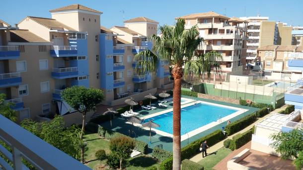 Wohnungstausch oder Haustausch in Spanien,La Antilla, Huelva,Fantastic beach in La Antilla Spain,Home Exchange Listing Image