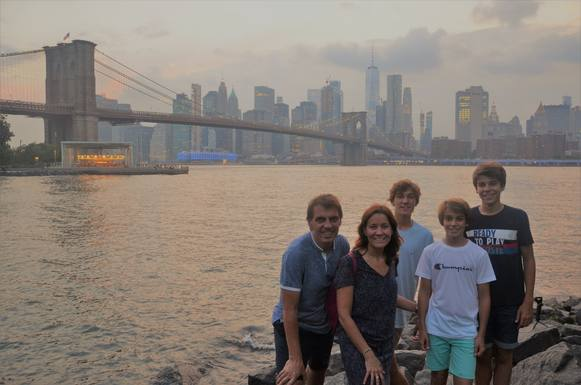 Our family in New York (Summer 2019)