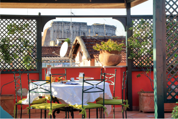 Boligbytte i  Italia,Roma, Lazio,Apartment with great view in Rome centre,Home Exchange & House Swap Listing Image