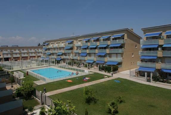 Huizenruil in  Spanje,Benicarló, Castellón,Cómodo y tranquilo apartamento con jardin,Huizenruil foto advertentie
