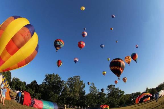 Howell Balloon Feast...30 min by car
