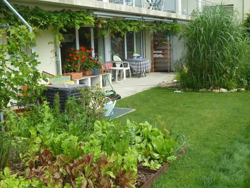 Home exchange in Switzerland,Evilard, Kanton Bern,Zweizimmer-Wohnung mit gr. Gartensitzplatz,Home Exchange  Holiday Listing Image