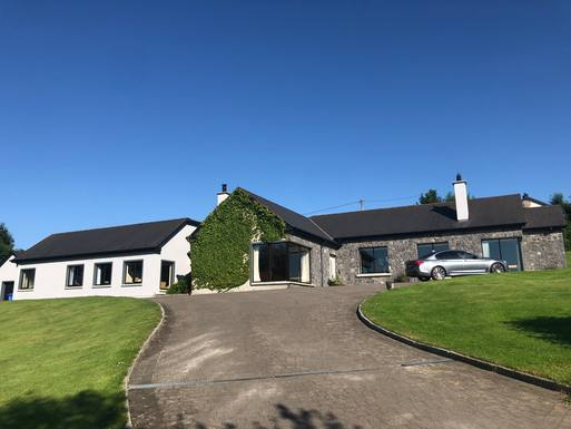 Home exchange in Ireland,Bunclody, County Wexford,A large, luxurious family home with stunning,Home Exchange  Holiday Listing Image