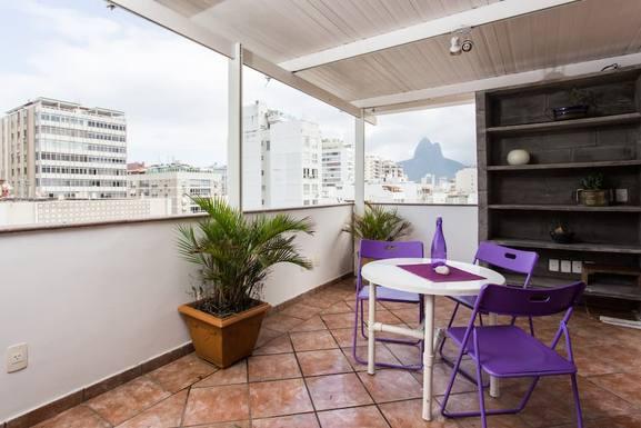 Home exchange in Brazil,Rio de Janeiro, Rio de Janeiro,Penthouse duplex with views in Ipanema beach!,Home Exchange  Holiday Listing Image