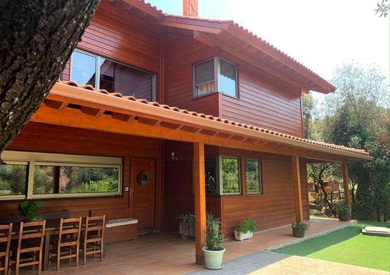 Home exchange in Spain,Tagamanent, Catalunya,Wooden house in natural park, near Barcelona,Home Exchange  Holiday Listing Image