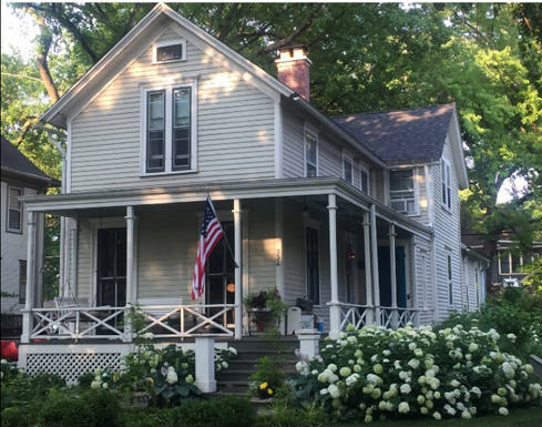 Home exchange in United States,Oak Park, IL,1865 Farmhouse 9m from Chicago, Illinois,Home Exchange  Holiday Listing Image