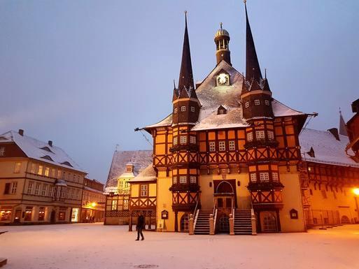 Wernigerode die bunte Stadt am Harz