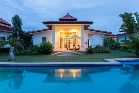BoligBytte til Thailand,Hua Hin, Prachuabkirikhan,Villa Bougainvillea in Hua Hin / Thailand,Boligbytte billeder