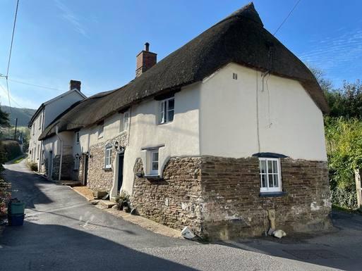 Huizenruil in  Verenigd Koninkrijk,Croyde, Devon,15th Century Grade II Listed Thatched Cottage,Huizenruil foto advertentie