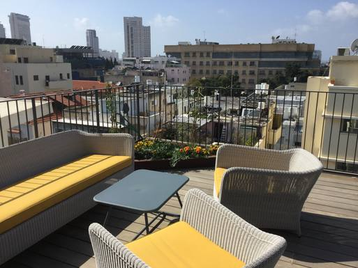Home exchange in Israel,Tel Aviv, Israel,Penthouse duplex in Tel Aviv Israel,Home Exchange & House Swap Listing Image