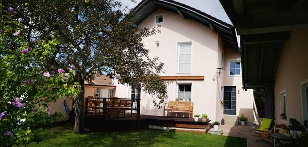 Home exchange country Almanya,Bad Aibling, Bayern,Big House on the River near Munich + Salzburg,Home Exchange Listing Image