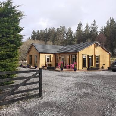 País de intercambio de casas Irlanda,Foxford, Mayo,Log Cabin get away in unspoilt countryside,Imagen de la casa de intercambio
