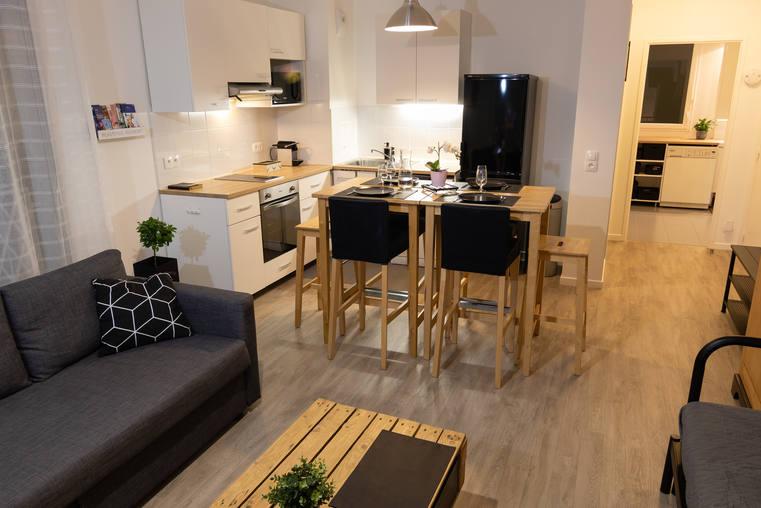 Home Exchange In France Montevrain Flat Disney Paris
