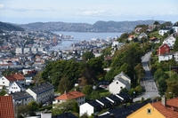 Home exchange in Norveç,Bergen, Hordaland,Family home with mountain, sea and city view,Home Exchange Listing Image