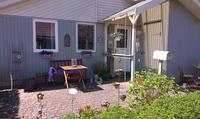 BoligBytte til Tyskland,Schaalby, Schleswig-Holstein,Cozy wooden house between baltic & north sea,Boligbytte billeder
