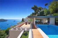 Home exchange in Fransa,Villefranche-sur-Me, Nice,4 bedroom house with pool&sea views near NICE,Home Exchange Listing Image