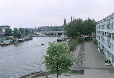 Bostadsbyte i/Netherlands/Amsterdam/View from the balcony