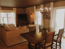Bostadsbyte i/United States/Cedarburg/Open concept living room, dining room, and kitchen