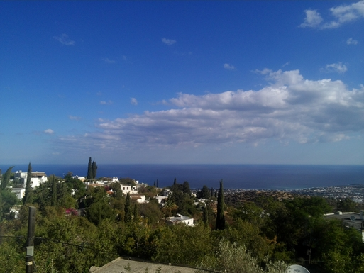 Home exchange in,Cyprus,Karaman,view from living area of house
